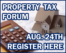 Property Tax Forum - Register Here